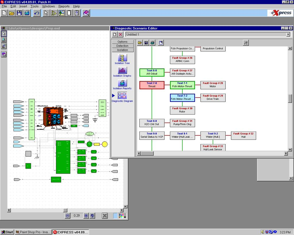 State Of Dsi Jim Lauffer Pdf Circuit Diagram Nokia C2 01 11 Express Diagnostic Outputs Fault Tree Provides An Interactive Interface To Exercise The Diagnostics Also Means Check Models For
