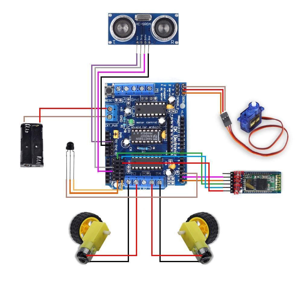 Arduino Smart Bluetooth Robot Car Kit User Guide Pdf Ja Wiring Diagram