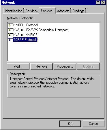 Wireless Access Point User Guide Checking TCP/IP Settings - Windows NT4.0 1.