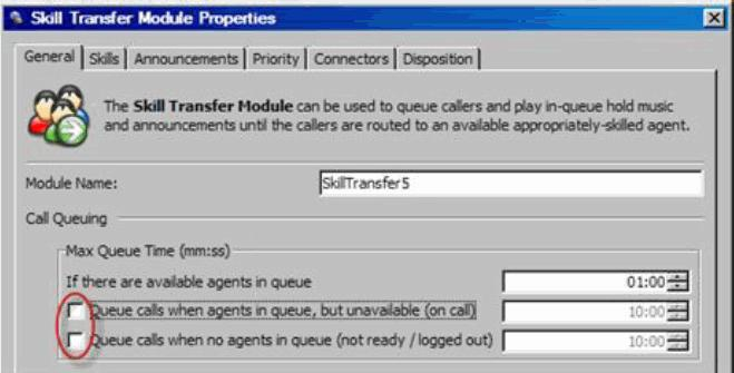 Configuring Autodial Agent Linkback Campaigns If a call is answered but there are no agents available to immediately take the call, play a message informing the person why you are calling.