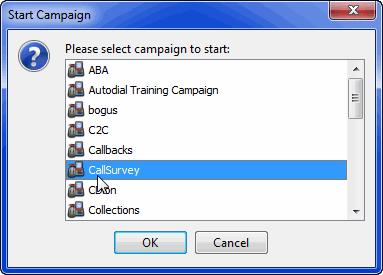 Creating Campaigns Managing Campaigns 3 Click OK. The campaign status changes to Running.