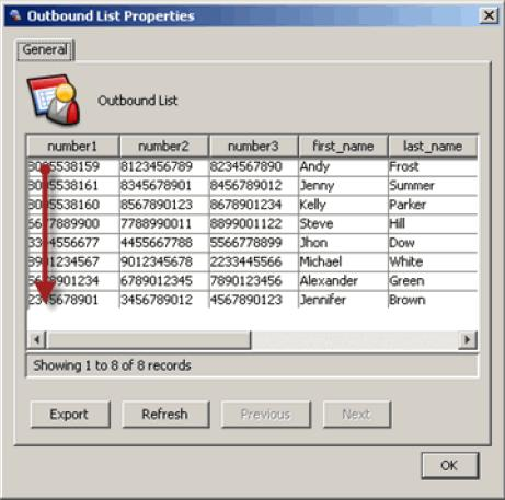 Configuring the List Dialing Mode for Outbound and Autodial Campaigns 2 For consecutive cycles, the dialer