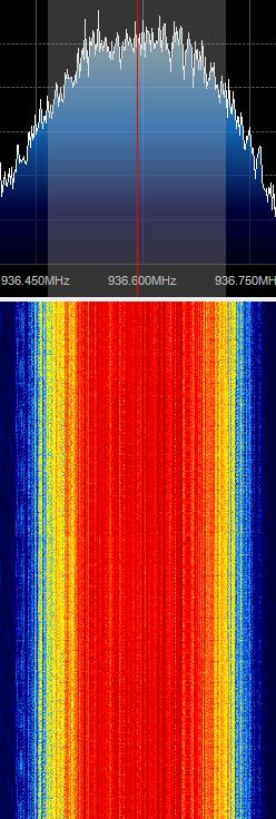 Figure 19. Gsm frequency Spectrum The rest of the tutorial is performed in Linux and we suppose that we have basic Linux knowledge to use the terminal window.