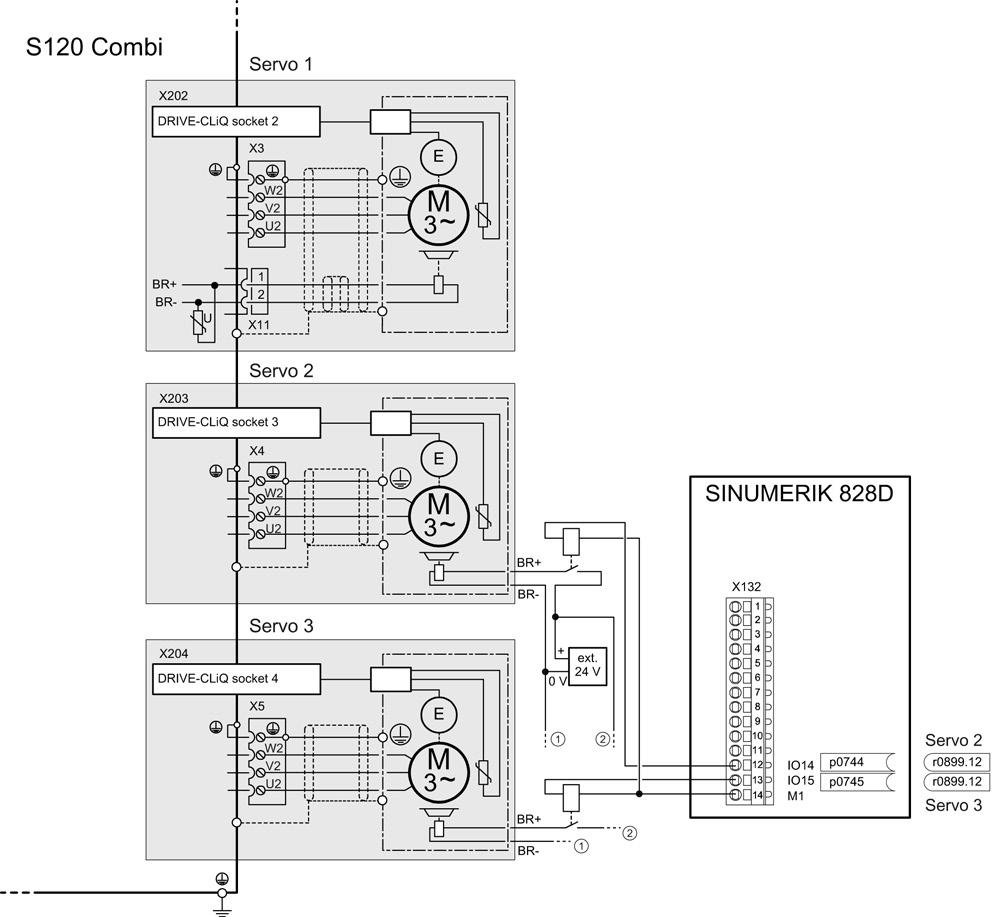 Sinamics S120 Combi Preface Animated 3phase Rcd Schematic Power Modules 4