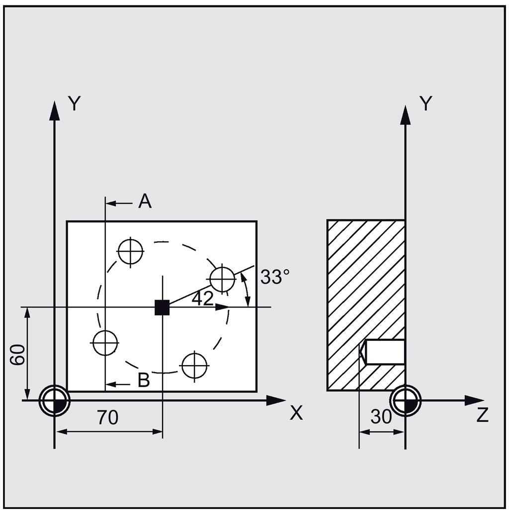 Sinumerik 808d Advanced Programming And Operating Manual Ht6 A C Compressor Wiring Diagram The Sta1 Parameter Defines Angle Of Rotation Between Positive Direction First Axis
