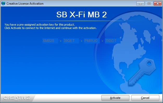 sound blaster x fi mb activation key