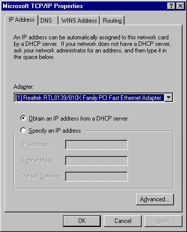 7: Click OK to confirm the setting. Your PC will now obtain an IP address automatically from your Broadband Router s DHCP server.