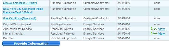 ENERGY SERVICES  Project Center User Guide  This guide is