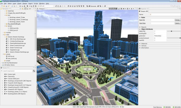 3DCity: Create 3D city features - PDF