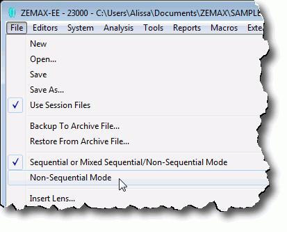 Getting Started Using ZEMAX - PDF