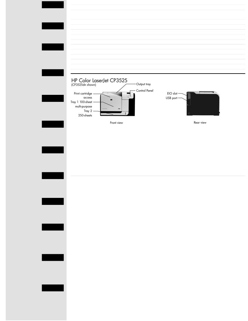 Hp Color Laserjet Cp3525n Printer Discontinued Pdf 1100a Service Manual With Dmr 4 5 3