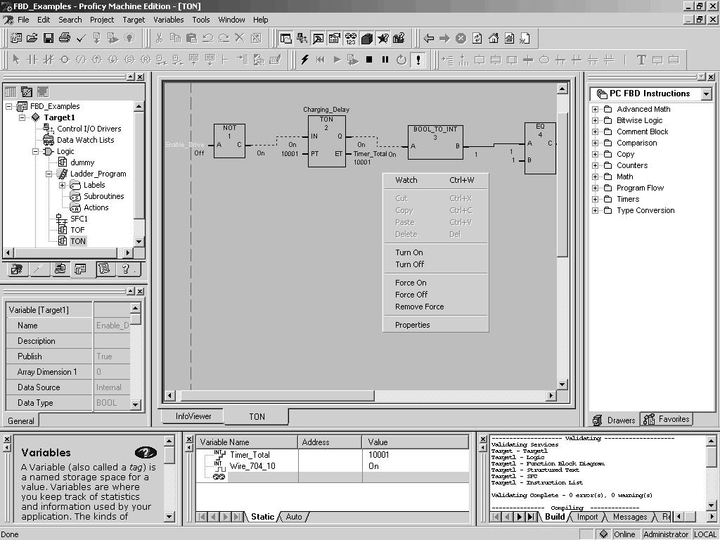 Proficy Machine Edition Pdf Logic Diagram Maker Online 3 Developer Pc Function Block Editor Working With The Fbd