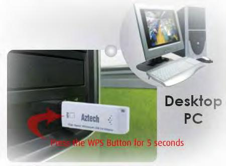 WPS WPS or Wifi Protected Setup makes it easy for wireless clients to