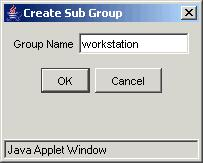 CHAPTER 6 AUTHENTICATION DEPLOYMENT TEST SETTINGS Step 2 Create A Sub Group