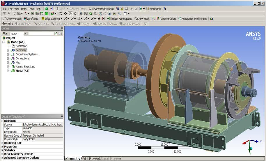 Ansys Workbench Modal Analysis With Rotation  Cheap