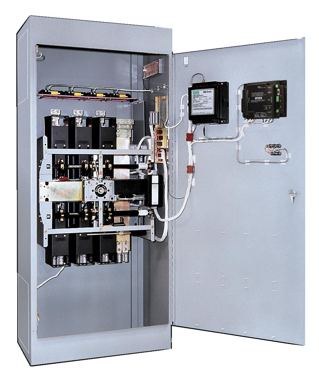 Asco 7000 Series Power Transfer Switch Pdf Lighting Contactor Wiring Diagram Emersonasco 918 As Society Becomes Increasingly Dependent On The Quality And Reliability Of Electrical Interruption Or