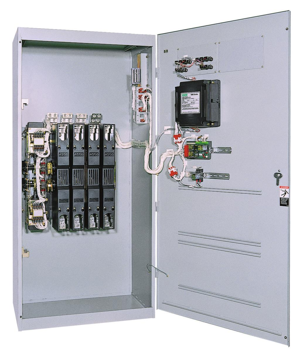 Asco 7000 Series Power Transfer Switch Pdf Limit Wiring Diagram Open Transition Switches Are Suitable For A Wide Range Of Applications Available From 30 To