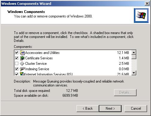 PC and Server Configuration 802.