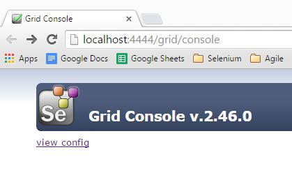 If you browse to http://localhost:4444/grid/console on the Hub machine, it will display the following information in the browser: There's more.