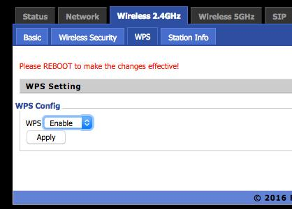 7.4 WPS WPS (Wi-Fi Protected Setup) provides an easy procedure to make a network connection between a wireless station and a wireless access point