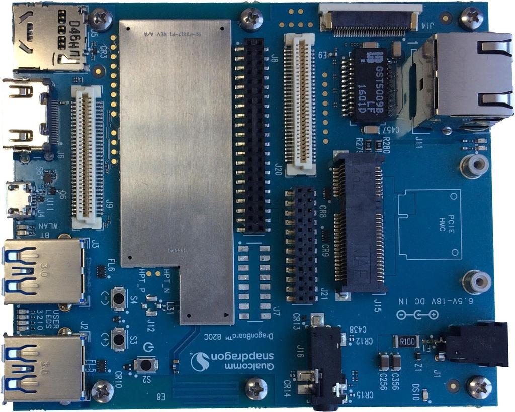 DragonBoard 820c  Hardware Manual  Powered by: - PDF