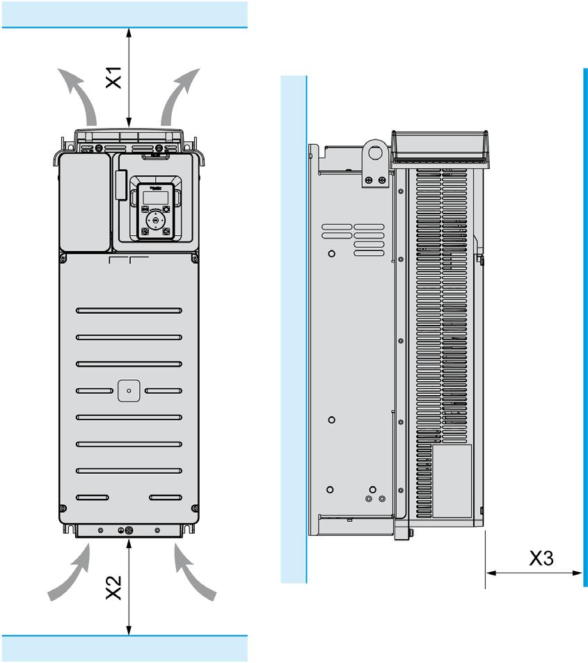 Altivar 610 Variable Speed Drives Pdf Ats22 Wiring Diagram Temperature Lower Than 40 C 104 F Frame Sizes 1 2 And 3