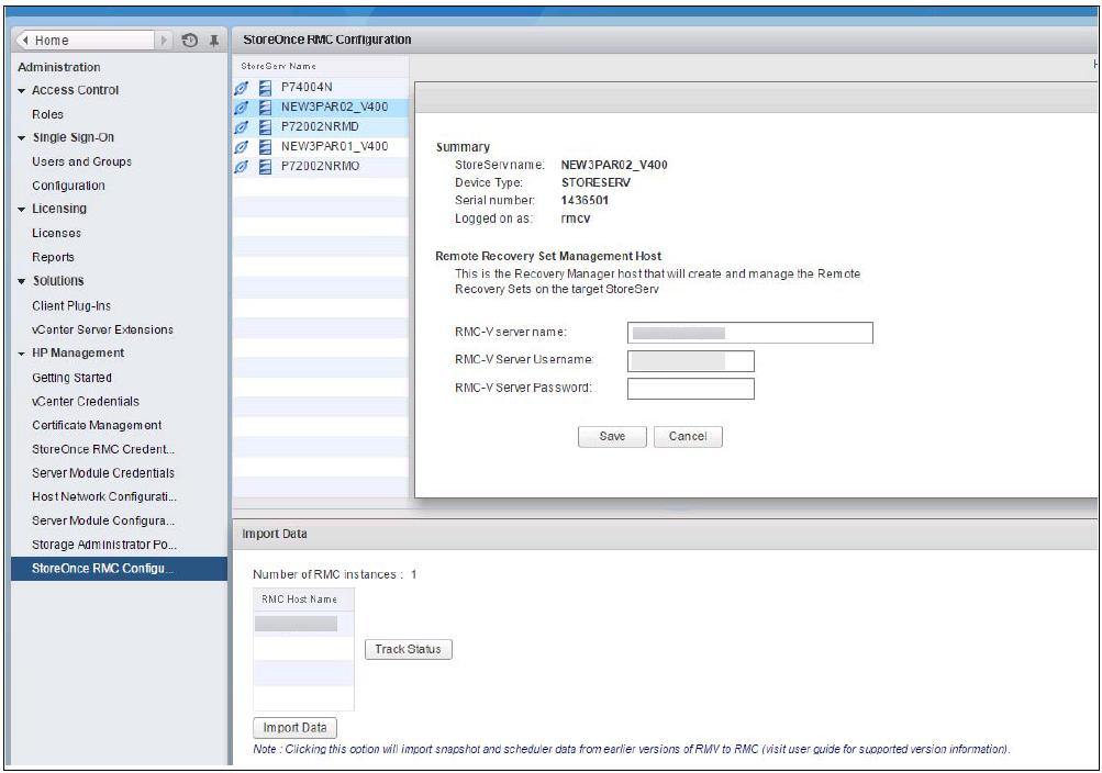 HP StoreOnce Recovery Manager Central for VMware User Guide - PDF
