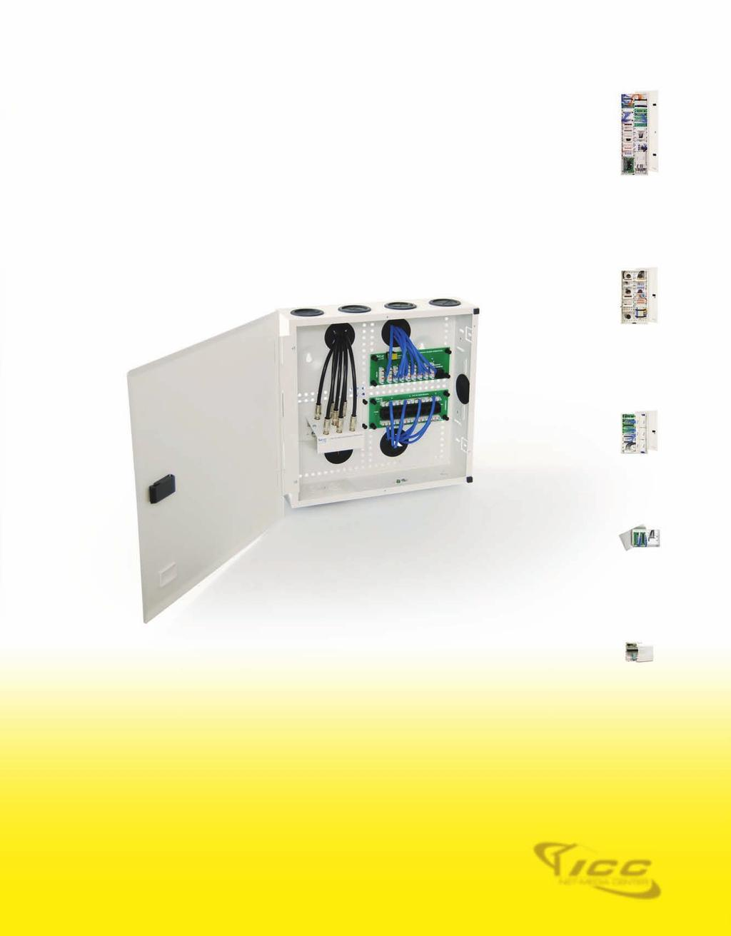Home Solutions Categories Pdf Image Of Command Center Structured Wiring Panel With 1x8 Coax And Well Equipped Priced 42 28 14 Ul Listed 20 Gauge Steel Push Pin