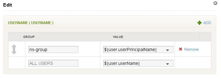 Chapter 2 Providing Access to Web Applications LastName To set values for the attributes, follow these steps. a b Click Edit mapped values. Click Edit next to the attribute and select a value.