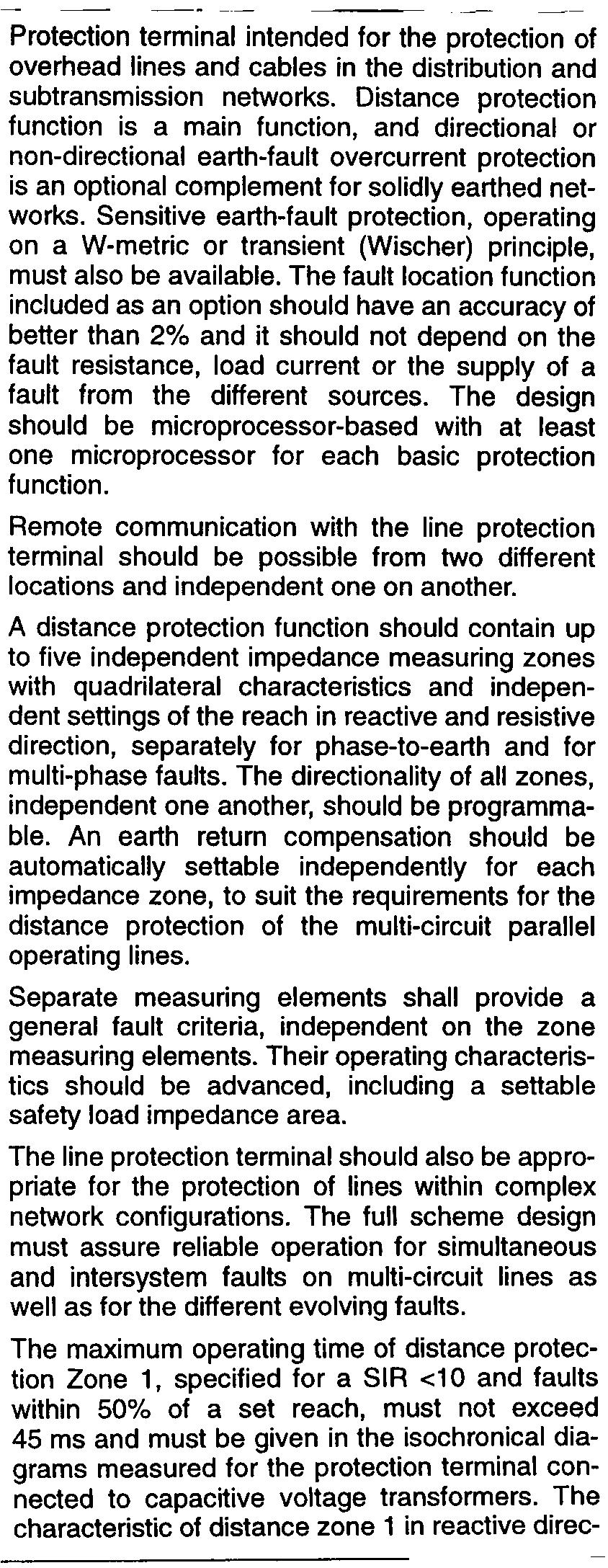 Line Distance Protection Se Pdf Circuit Breakers Gt Id Series Earth Leakage Breaker Distribution And Subtransmission Networks Sensitive Fault