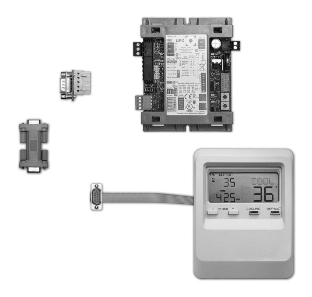 Smart Controller Protocol Converter Installation And Operation Og Vs Bacnet Wiring Diagram System Connections Kit Components Upc Db9 Serial Connection Port 2