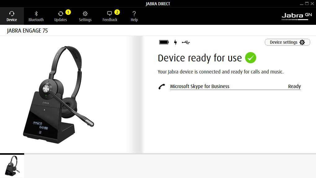 Jabra  Engage 75  User manual - PDF