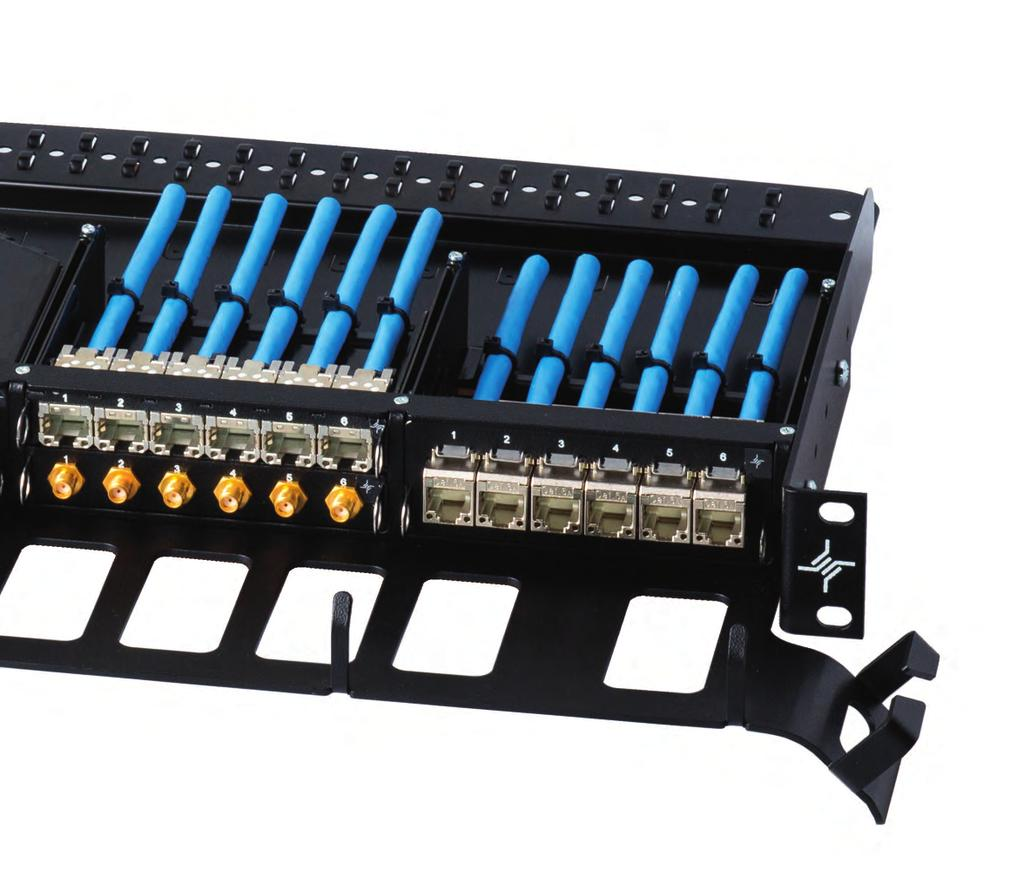 Flexibility And High Density Pdf Wall Mount Ethernet Jack Wiring Diagram Also Neat Patch Cable Features Benefits Hu 1 3 Modular 19 Panels