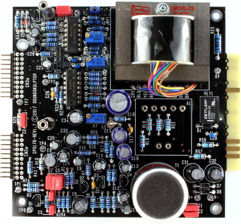 Cp5176 Assembly Guide Soldering Main Pcb Cbl Cbl2 Labpro Control Circuit Diagram 22 Ics Insert U1 And U2 Into Their Sockets