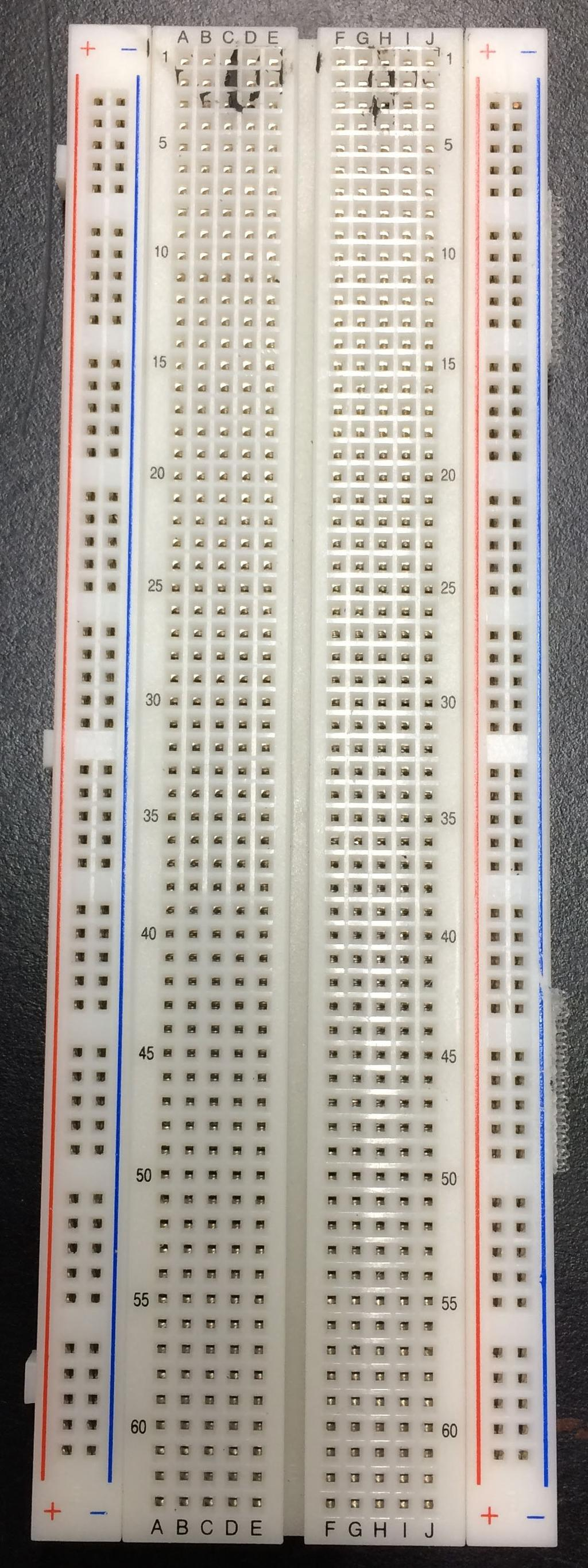 E85 Digital Design And Computer Engineering Lab 1 Electrical Lecture 24 Logicgatesimplelogiccircuit The Other Style Is Small Breadboard Such As You Were Probably Required To Get For