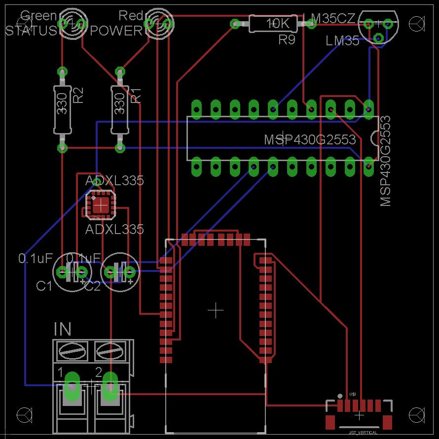 Department Of Electrical Engineering And Computer Science University Pir Motion Sensor Wiring Diagram For A Besides Chinese Pit Bike 44 Printed Circuit Boards Below Are The Two Board Schematics Created Production Pcbs