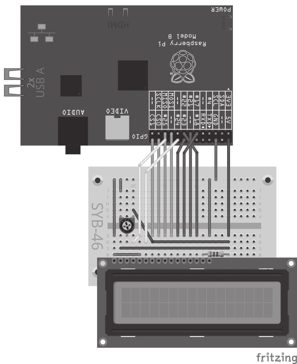 Schematics And Layout Mightyohm Titelei 33 Seite 1 Franzis Raspberry Pi Maker Kit Pdf 10 Lc Display In 8 Bit Mode The Next Project Shows How To Use