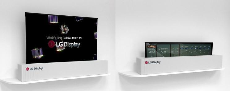 50 LG Display Rollable 65 UHD OLED TV LG