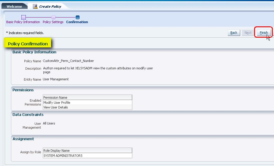 Lab 3: Configuration of OIM to manage user accounts lifecycle in