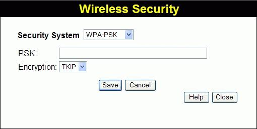 Wireless Router User Guide WEP Data Encryption Key Key Value Passphrase Select the desired option, and ensure the Wireless Stations use the same setting.