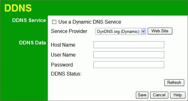 Wireless Router User Guide Dynamic DNS (Domain Name Server) This free service is very useful when combined with the Virtual Server feature.