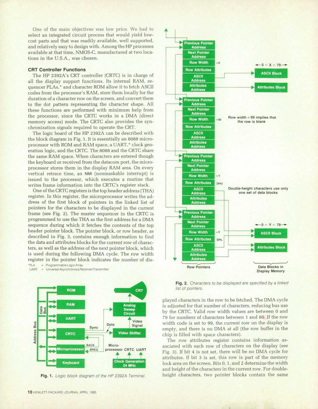 Lettpackard Hew April 19b5 Copr Hewlett Packard Co Pdf Circuits 8085 Projects Blog Archive Optical Sensor Circuit One Of The Main Objectives Was Low Price