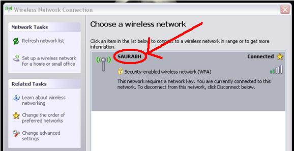 Wireless Standards SSID (Service Set Identifier): An SSID is the