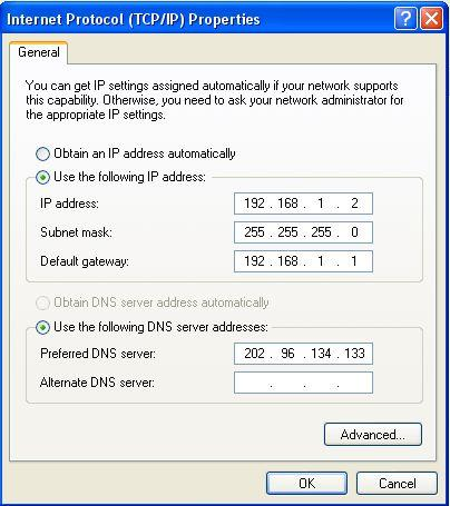 Figure 1-2 Figure 1-3 Double-click Internet Protocol (TCP/IP) will appear IP address page.
