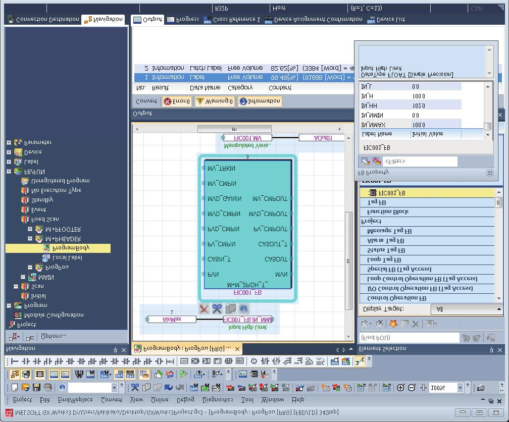 Differences of PX Developer and GX Works3 process control functions