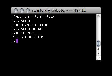 File I/O Write to a file: 1: #include <stdio.