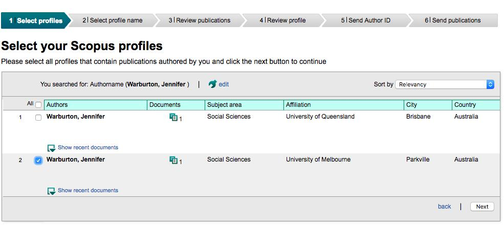 You can correct your Scopus profile and send your Author ID and publications to ORCID.