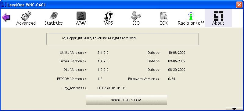 5. Wireless Utility Configuration (For Windows XP and Vista) 5.1 Profile The Profile List keeps a record of your favorite wireless settings at home, office, and other public hotspots.