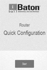 Configuring the Router via Web based Quick Configuration 2.