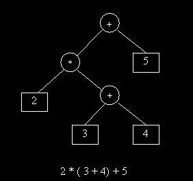 bottom up parsing The parsing problem is to connect the root node S with the tree leaves, the input Top-down parsers: starts constructing the parse tree at the top (root) and move A = 1 + 3 * 4 / 5